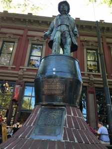 Gassy Jack, who founded Vancouver.